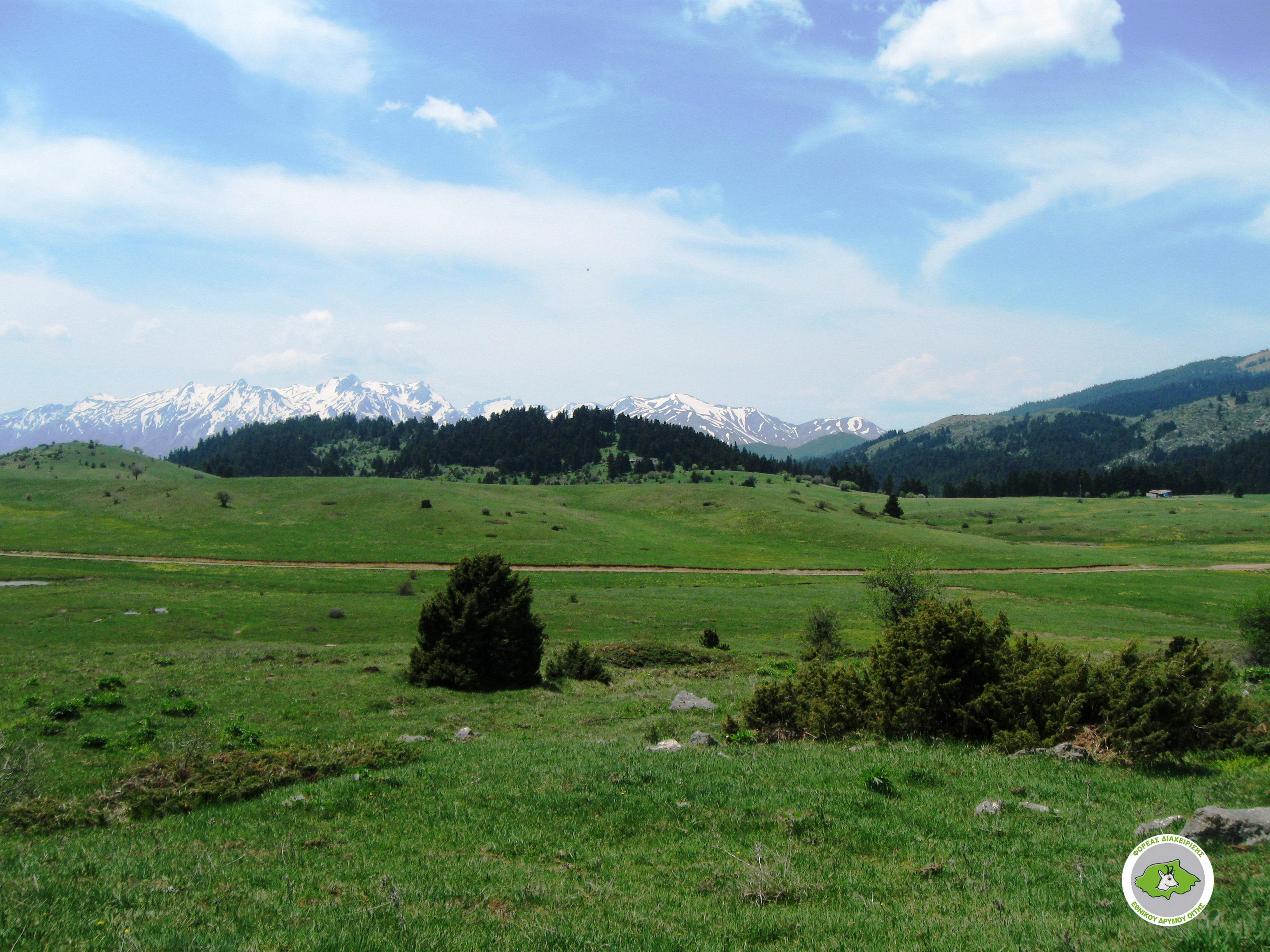 Katavothra plateau – Pyrgos peak – Katavothra plateau