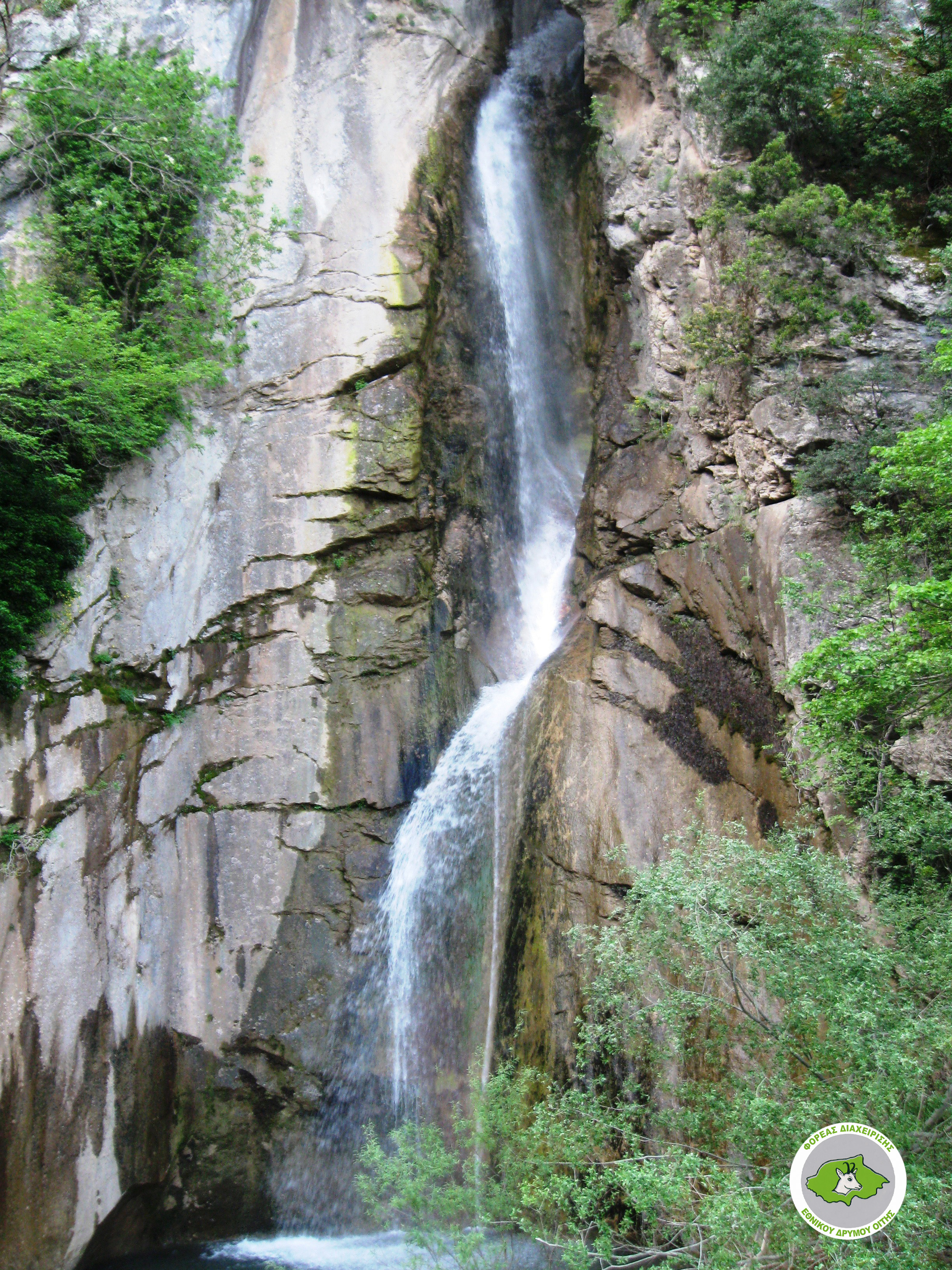 Ypati – Kremastos waterfall – Ypati (Farmakides Path)