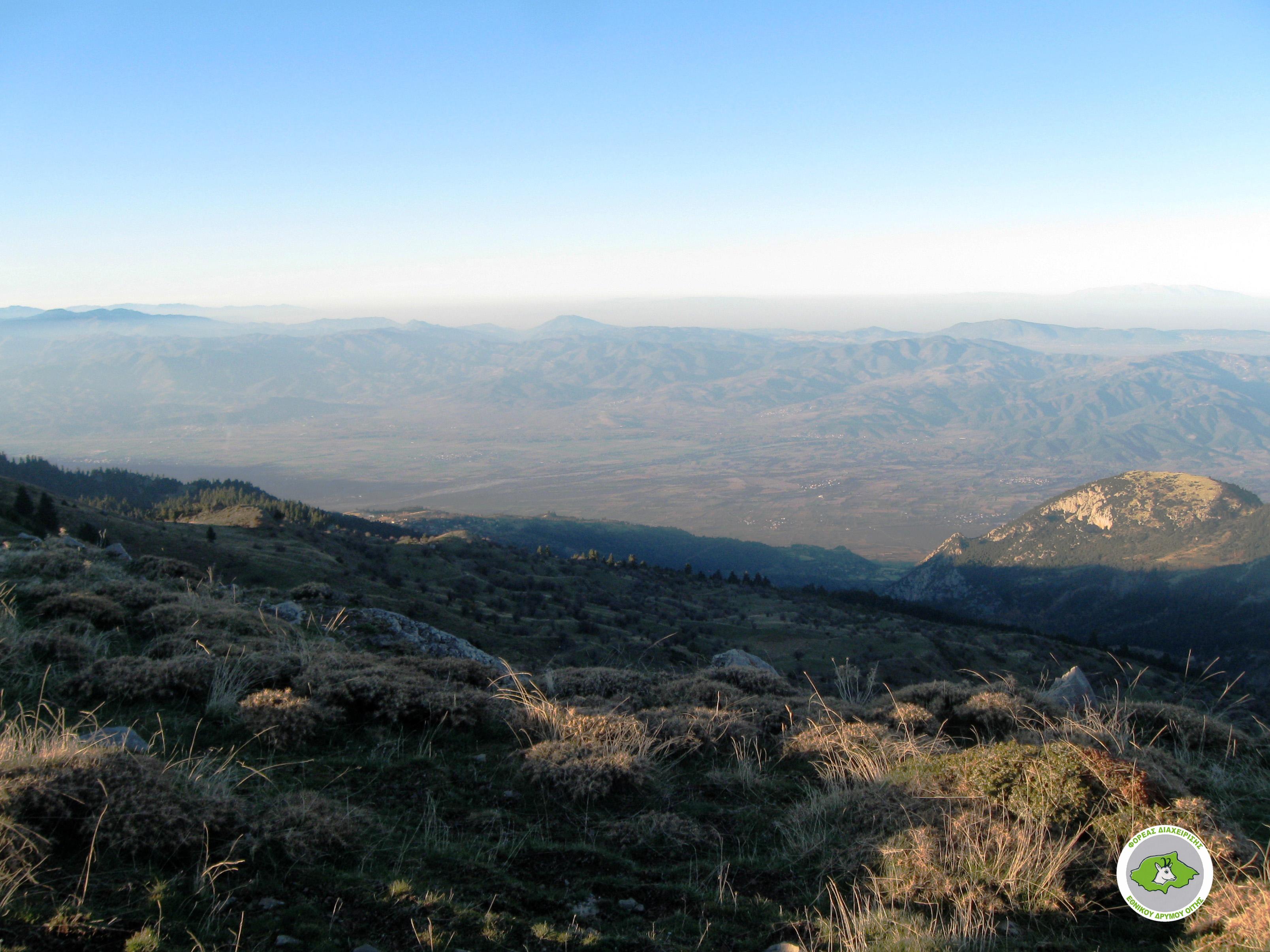 Kastania – Petrotos peak – Ypati